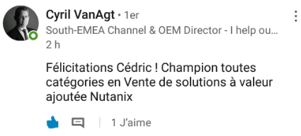 Cyril VanAgt commentaire NCSX SIIUM