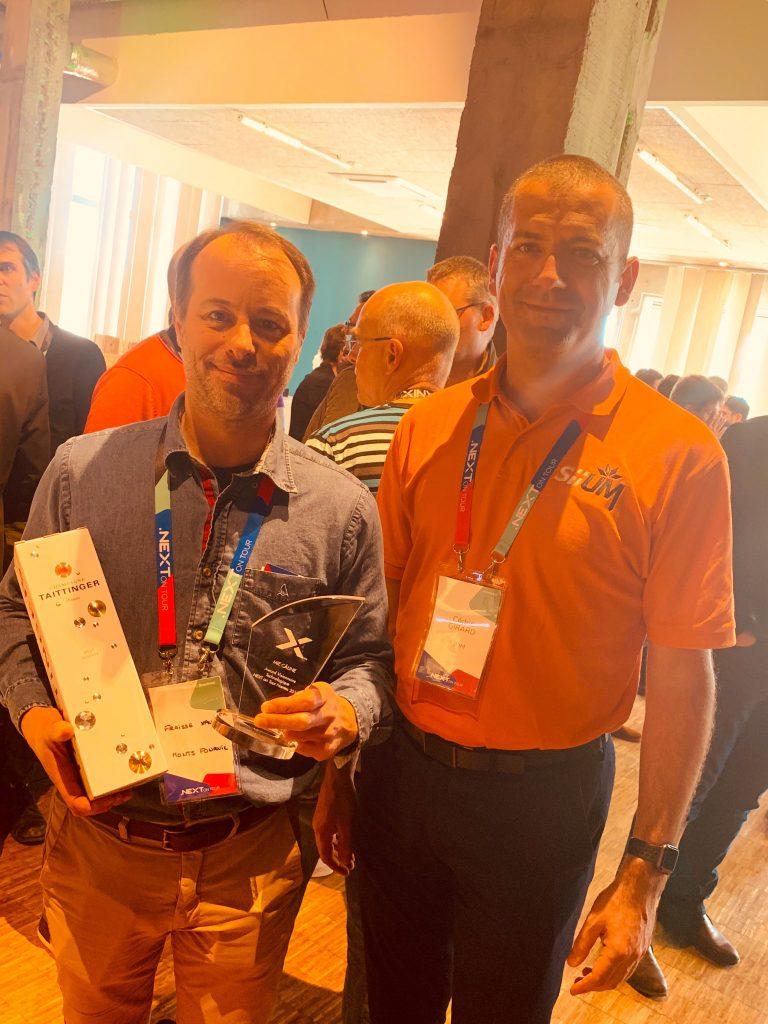 Award du visionnaire technologique décerné à La Mie Câline