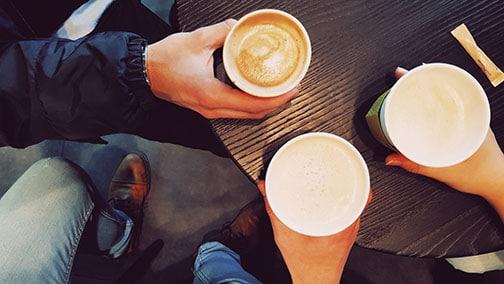 Échangeons sur vos projets informatiques autour d'un café
