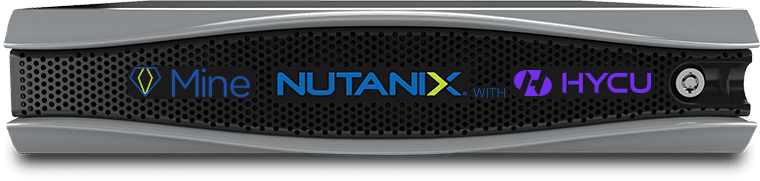Nutanix Mine sauvegarde