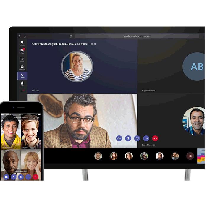 Assister à des réunions en ligne avec Microsoft Teams