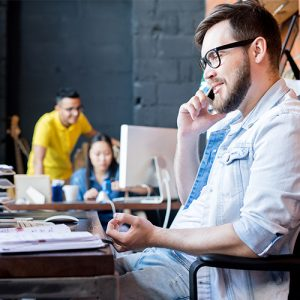 La téléphonie avec Teams grâce à Business Voice